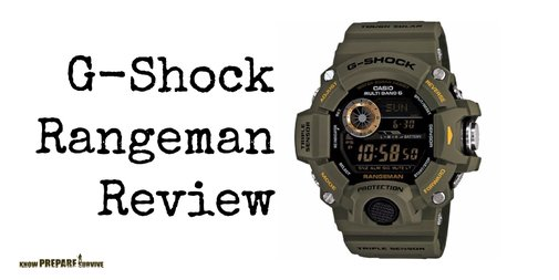 Casio G Shock Rangeman GW 9400 Master of G Tactical Watch Review