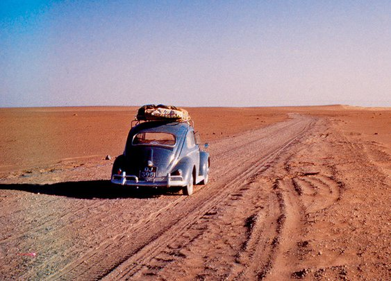 This Couple Drove Across the Planet in a VW Beetle (Twice) | The Drive