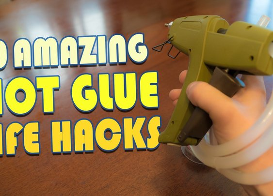 10 Amazing Hot Glue Life Hacks You Should Try