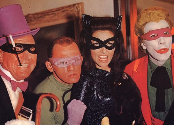 The '60s 'Batman' Movie Just Turned 50 And Attention Must Be Paid  : Monkey See : NPR