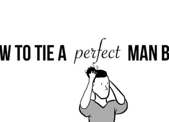 How to tie a perfect man bun - The Oatmeal