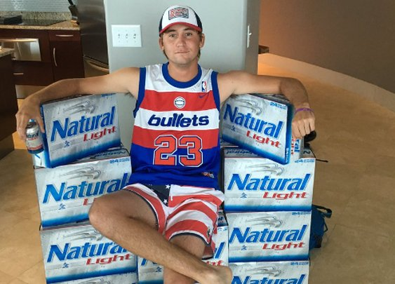 Smylie Kaufman, new Natty Light endorser