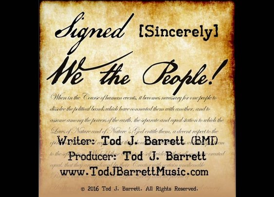 Signed Sincerely We The People ! - YouTube