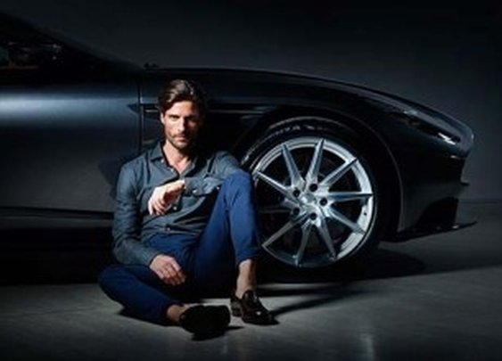 Aston Martin previews its partnership with Hackett London