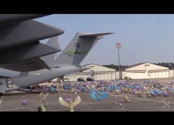 USAF Drops Pokemon GO