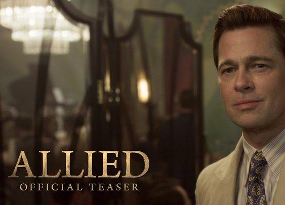 Allied Teaser Trailer (2016)