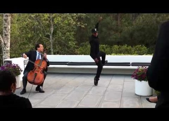 Lil Buck and Yo-Yo Ma