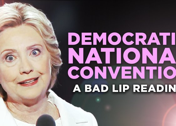 """DEMOCRATIC NATIONAL CONVENTION"" — A Bad Lip Reading - YouTube"