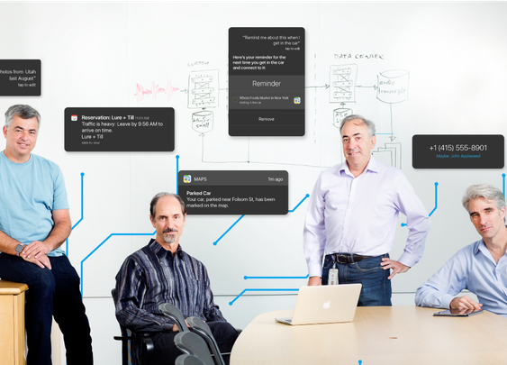 An Exclusive Look at How AI and Machine Learning Work at Apple