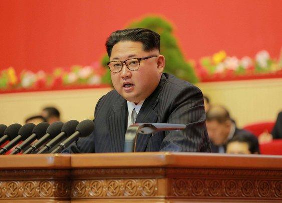 Kim Jong-un uses anti-aircraft gun to execute two North Korea officials
