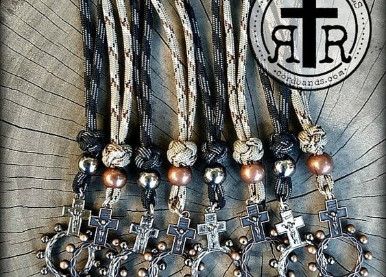 Paracord Pocket Rosary Ring for your EDC     bit.ly/RR-Ring