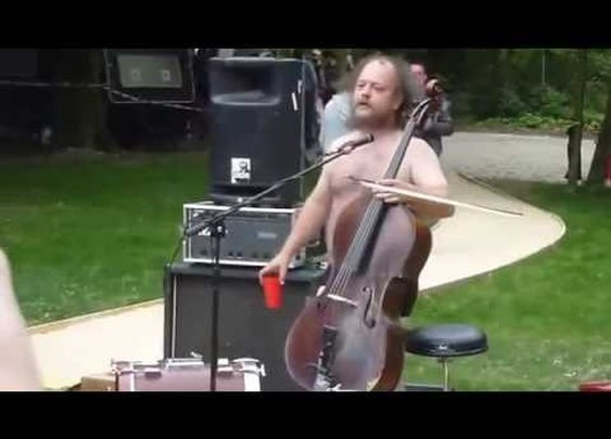 Watch This Crazy Frenchman Play Death Metal Cello
