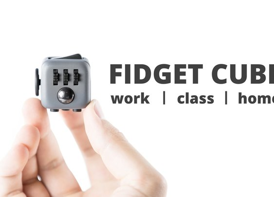 Fidget Cube: A Vinyl Desk Toy by Matthew and Mark McLachlan