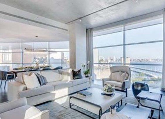 Inside Kim Kardashian's $30 Million New York City Airbnb Penthouse