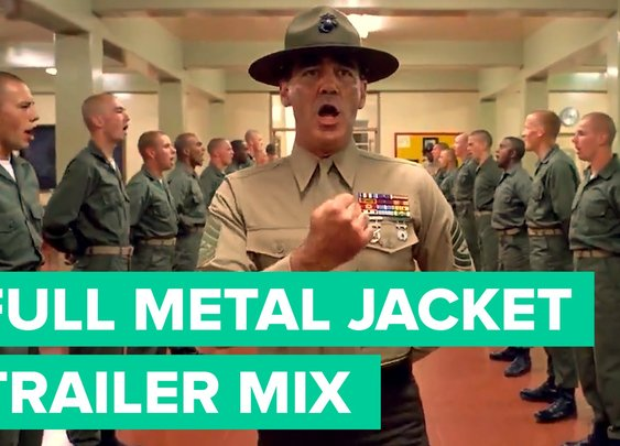 'Full Metal Jacket' as a Wes Anderson Movie