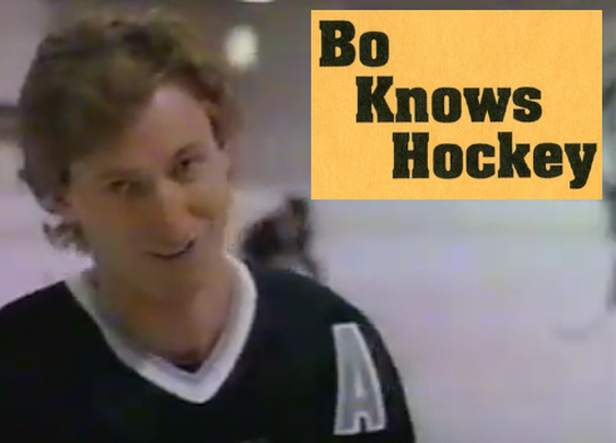 """BarDown: Throwback Thursday to Gretzky just saying """"No"""" in the 'Bo Knows' commercial"""