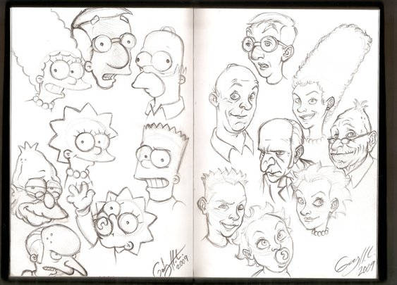 2009: A Simpsons' Oddity by WinkGuy1 on DeviantArt