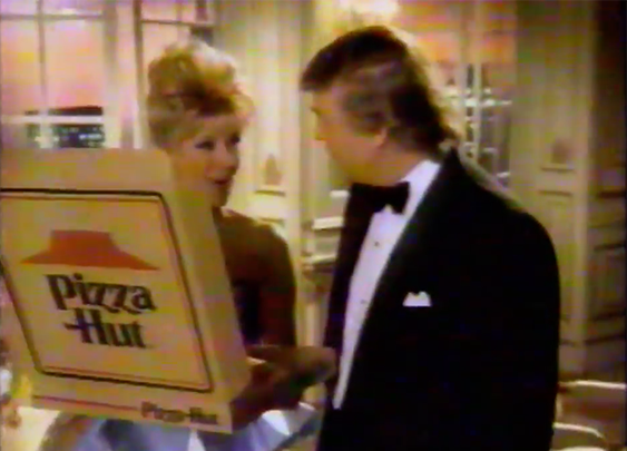 Donald Trump Introduces Pizza Hut's Stuffed Crust Pizza