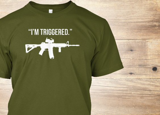 I'm Triggered - Limited Edition | Teespring