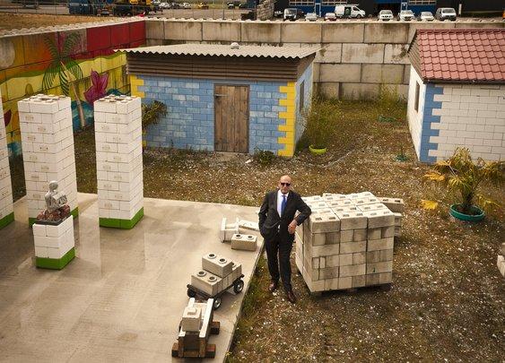 Rebuilding Blocks: Mobile Factory Turns Disaster Debris into Modular Bricks   Urbanist