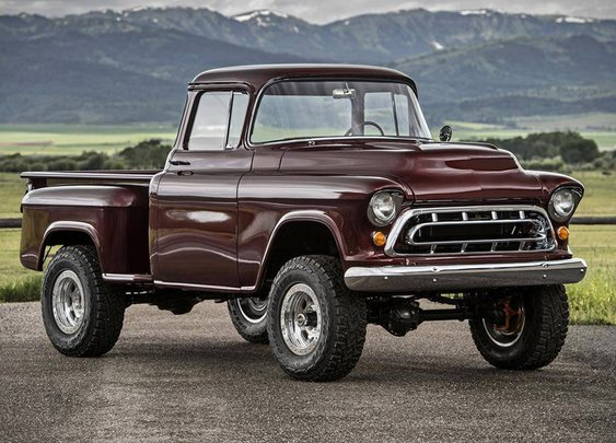 1957 Chevrolet Legacy Napco Truck | Uncrate