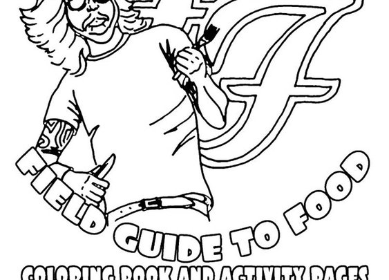 The 2011 Foo Fighters Tour Rider with Coloring Book and Activity Pages