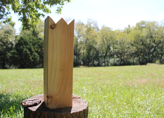 From the Gentlemint Blog: How to Make a Kubb (aka Viking Chess) Game Set