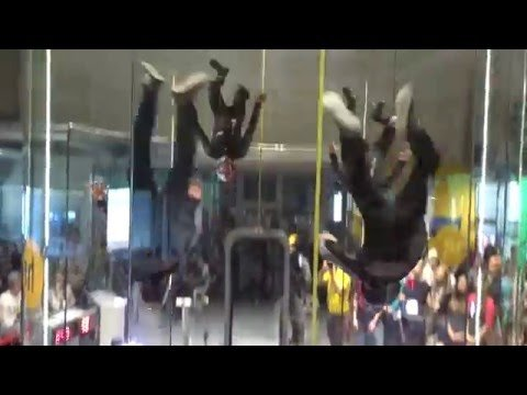 """1st FAI World Indoor Skydiving Championship - Silver Medallists - Czech Team """"MAD RAVENS"""" - YouTube"""