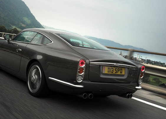 Car Designer David Brown Shares Why His Speedback GT Is a Nod to Mod