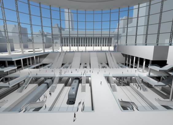 Penn Station Reborn - The New York Times