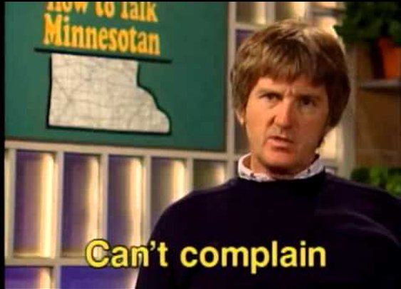 How to Talk Minnesotan: The Power of the Negative