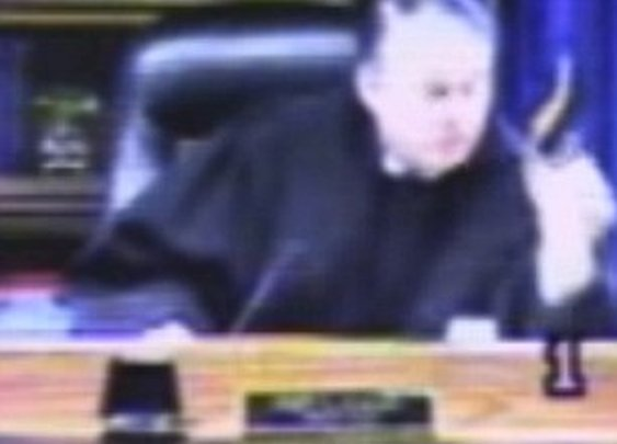 Furious Judge Helps Tackle an Aggressive Defendant