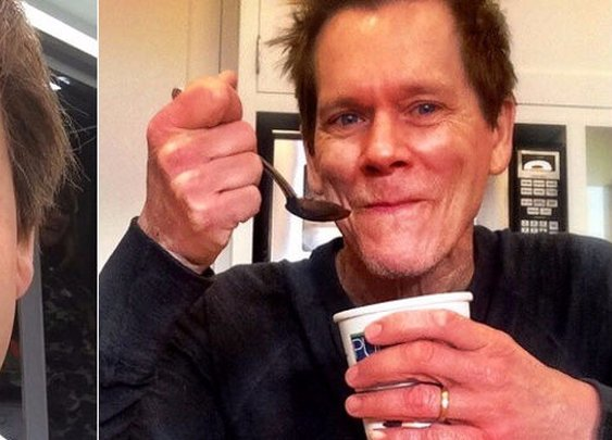 Hey, Internet. We need to discuss how you're dealing with this fat Kevin Bacon selfie. | Kevin Bacon | Someecards