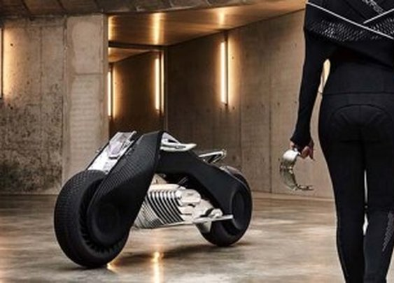 BMW reveals amazing Motorrad Vision Next 100 bike