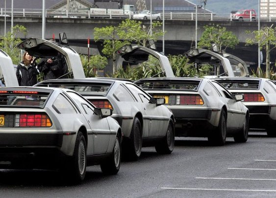 Place a reservation for an all-new DeLorean DMC-12 right now