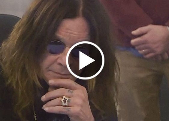 "Ozzy Osbourne Hears ""Crazy Train"" Master Tape For The First Time"
