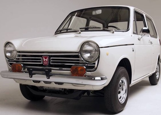 The First Ever Honda Sold in the U.S. Restored