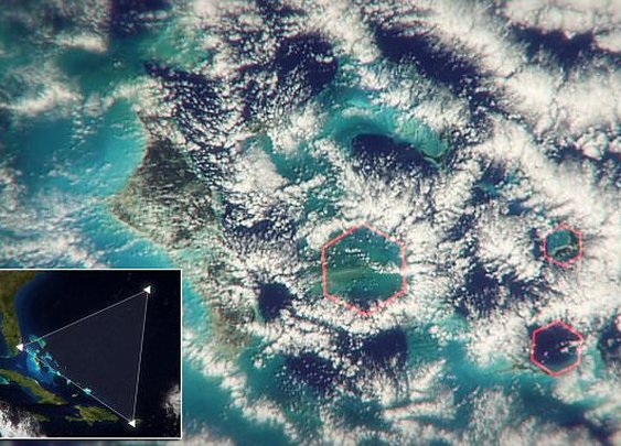 Mystery of the Bermuda Triangle solved?