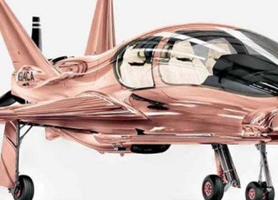 Cobalt Valkyrie X Rose Gold Private Plane