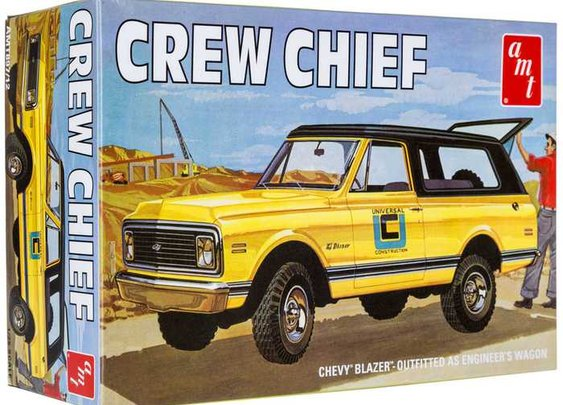 1972 Chevy Blazer Crew Chief Model Kit | Hobby Lobby