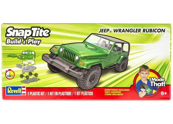 Jeep Wrangler Rubicon Model Kit | Hobby Lobby
