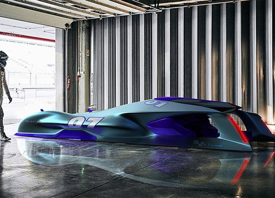 Here's what Le Mans race cars might look like in 2030