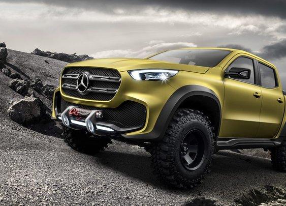 Mercedes-Benz Concept X-Class Truck Revealed