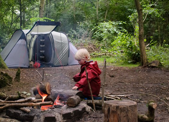 A handy guide to taking your kids camping for the first time