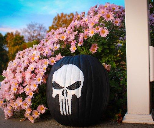 Punisher Pumpkin