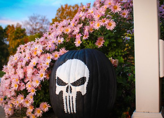 Punisher Pumpkin