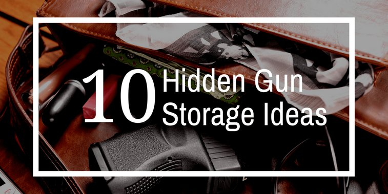 10 Hidden Weapon Storage Ideas: Secret Drawers, Fake Books, and More!