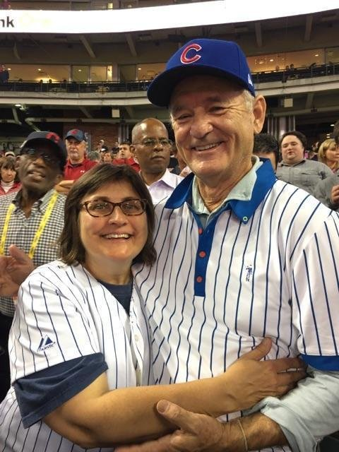 Bill Murray gives World Series seat to Cubs fan without ticket