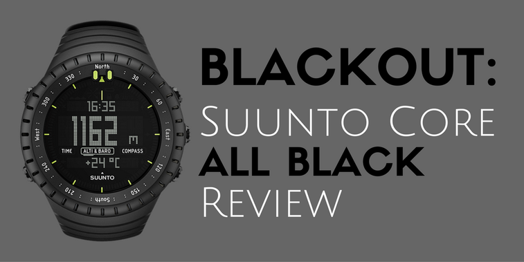 Suunto Core All Black Military Watch Review: An ABC Watch For Everyone