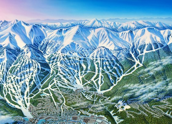 For 'the Michelangelo of snow,' every ski trail is a work of art - The Washington Post